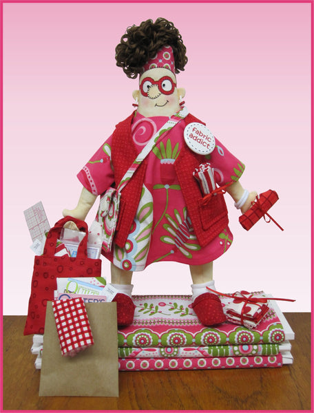 Fabric Addict Doll Download Pattern