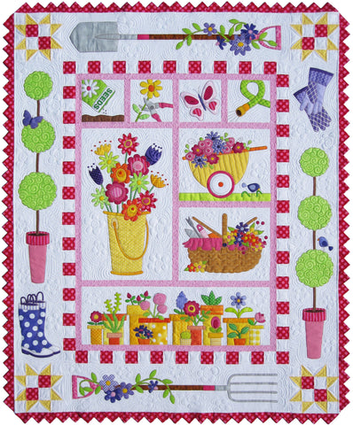 Garden Fabric Kit & Pattern