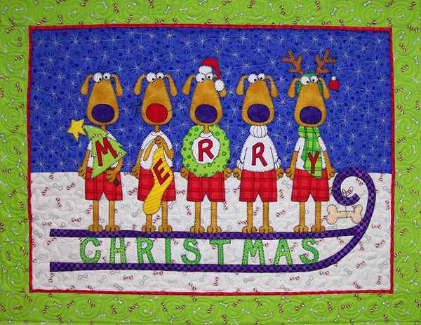 Hairy Christmas Download Pattern