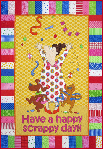 Have a Happy Scrappy Day Quilt Pattern