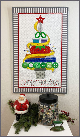 Holiday Sewing Tree Fabric Kit & Pattern