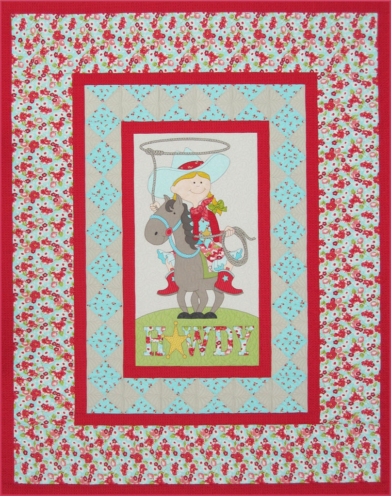 Little Cowboy & Cowgirl Quilt Pattern