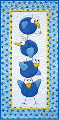 Stacked Birds Wallhanging