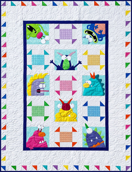 Monsters Quilt Pattern