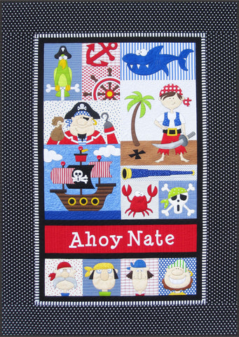 Pirates Quilt Download Pattern
