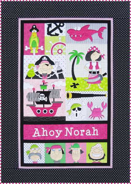 Pirates for Boys & Girls Quilt Pattern