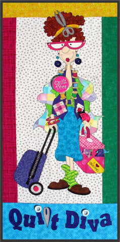 Quilt Diva Pattern & Fabric Kit