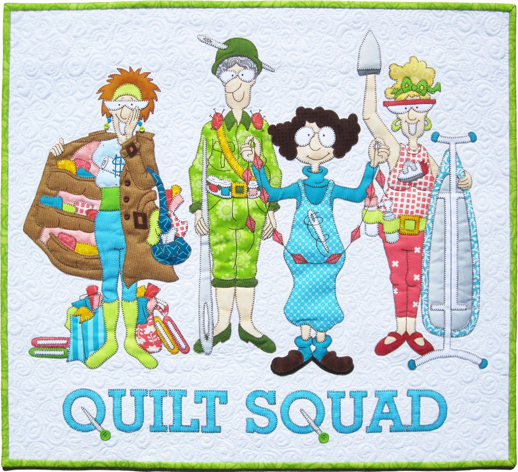 Quilt Squad Pattern & Fabric Kit