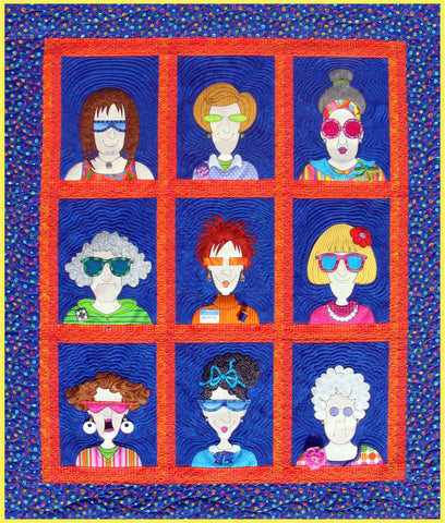 Quilters Yearbook Quilt
