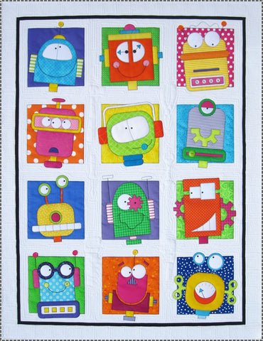 Robots Fabric Kit & Quilt Pattern