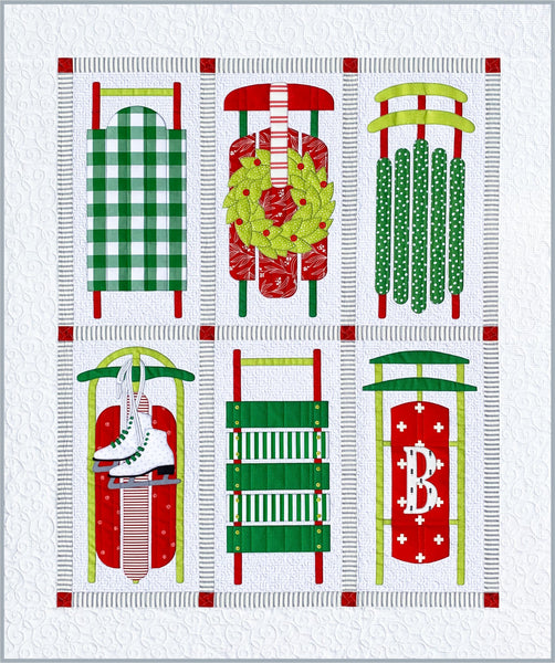 Sleds Fabric Kit & Quilt Pattern