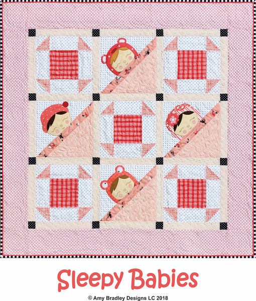 Sleepy Babies Quilt Pattern