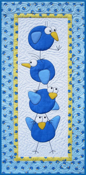 Meet the Tweets Quilt Pattern