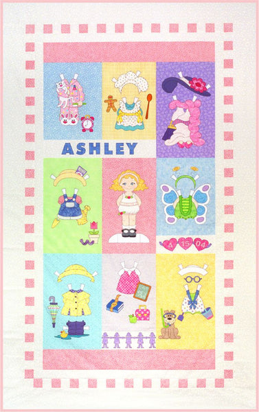 Paper Doll Little Girl Download Pattern