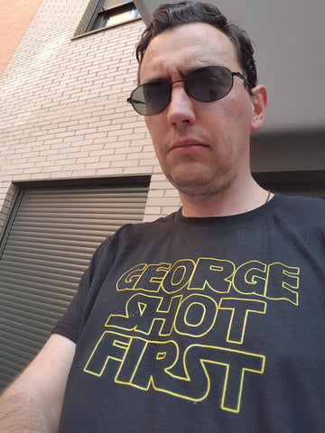 Classic Logo Tee - George Shot First