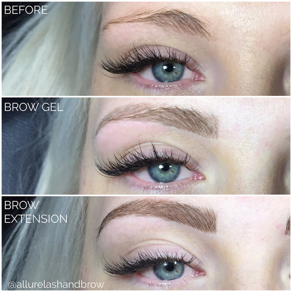 News Allure Lash And Brow Eyebrow Extensions Eyelash Extensions