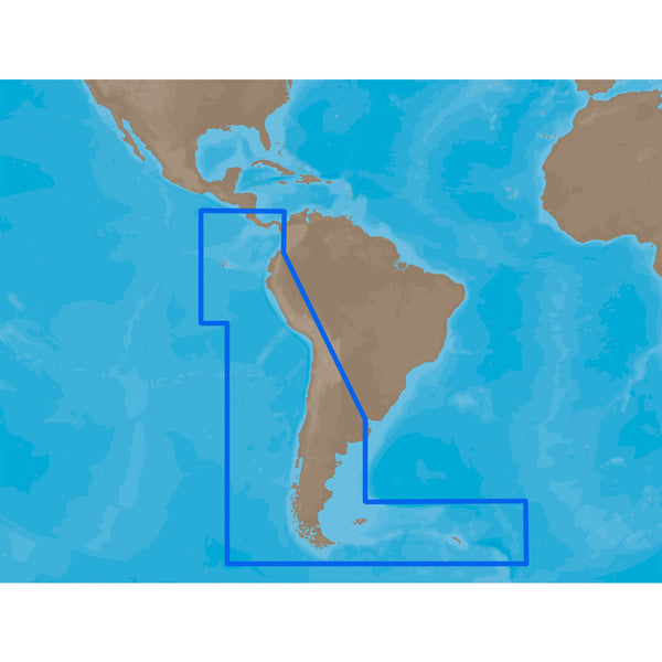 C-MAP MAX SA-M500 - Costa Rica-Chile-Falklands - C-Card