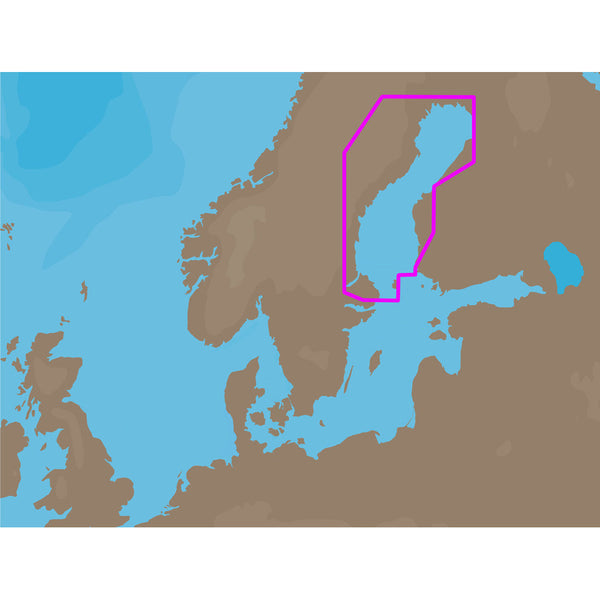 C-MAP NT+ EN-C259 - Gulf of Bothnia - C-Card