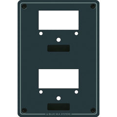 "Blue Sea 8014 Mounting Panel For (2) 2-3/4"" Meters"