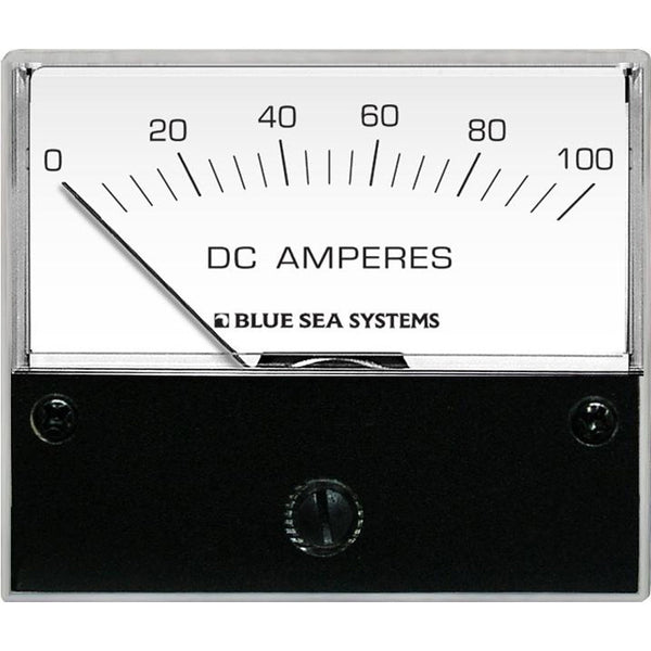 Blue Sea 8017 DC Analog Ammeter - 2-3-4