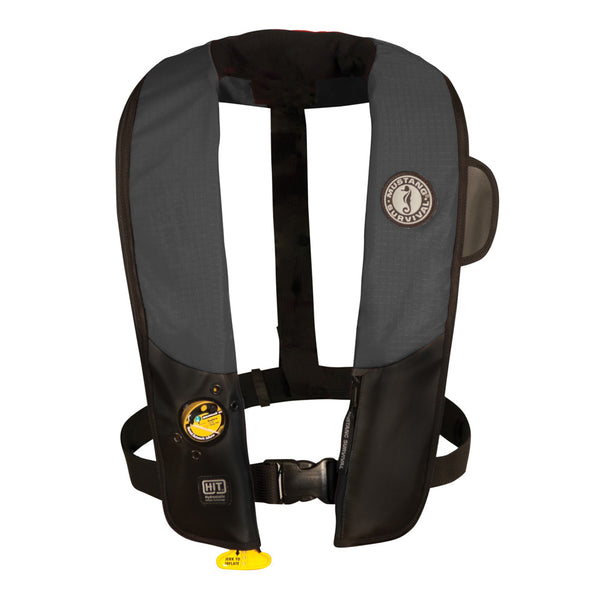 Mustang Deluxe Automatic Inflatable PFD - Black-Carbon