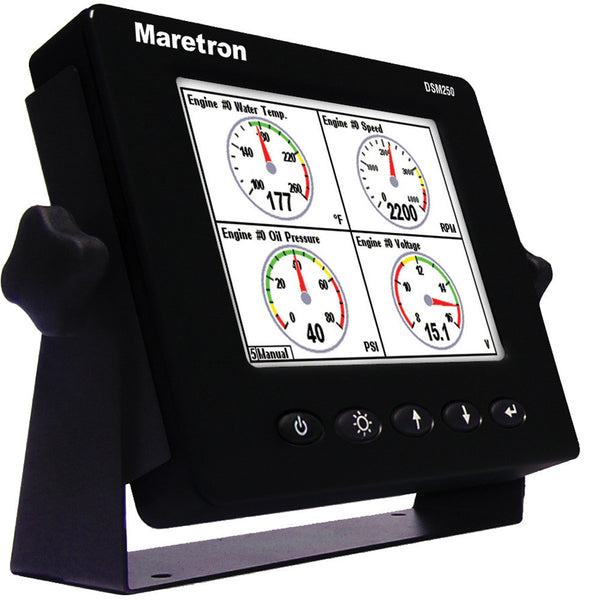 Maretron DSM250-01 Multi-Function Color Display - Black