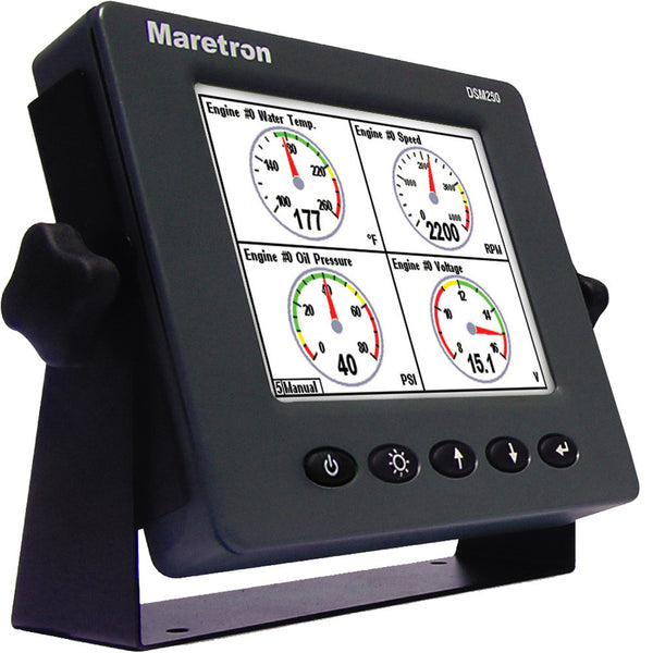 Maretron DSM250-02 Multi-Function Color Display - Grey