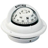 Ritchie TR-35W Trek Compass - Flush Mount - White