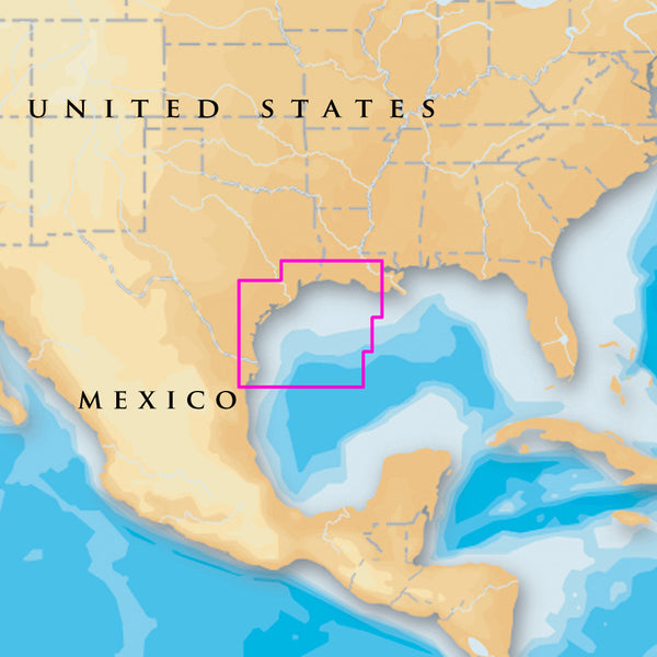 Navionics Platinum+ - West Gulf of Mexico - microSD-SD