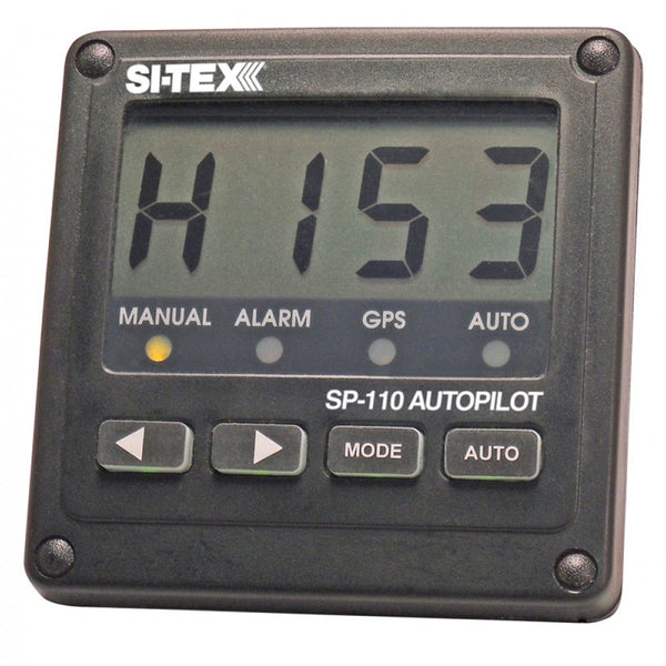 SI-TEX SP-110 System w-Rudder Feedback & Type S Mechanical Dash Drive