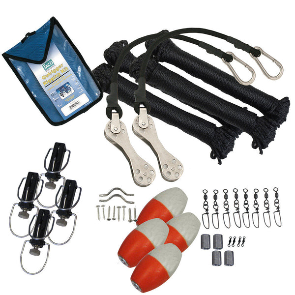 TACO Premium Double Rigging Kit f-2-Rigs on 2-Poles