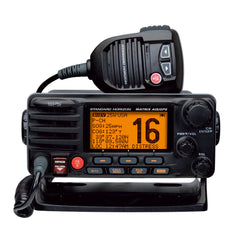Standard Horizon Matrix Fixed Mount VHF w-AIS & GPS - Class D DSC - 30W - Black