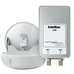 Intellian North American LNB (11.25GHz, 2 Ports) f-Use w-DIRECTV, DISH Network & Bell