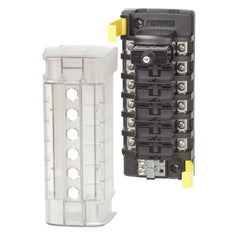 Blue Sea 5050 ST CLB Circuit Breaker Block - 6 Position