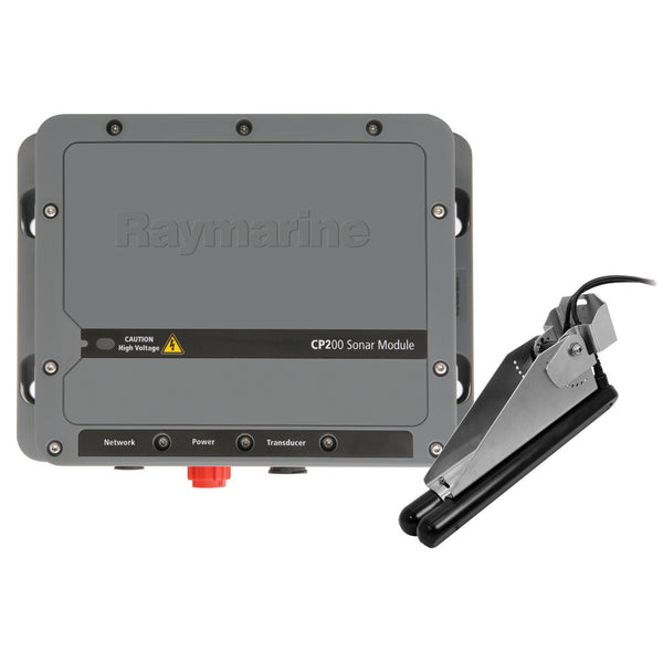 Raymarine CP200 CHIRP SideVision Sonar Module w-CPT-200 Transom Transducer