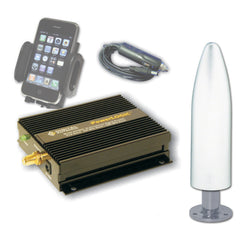 Digital DA4600 Marine Cell Booster w-1285-PW Antenna