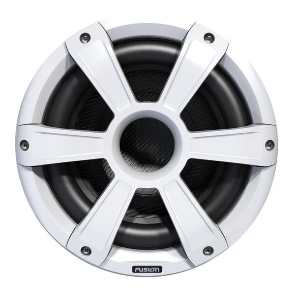 FUSION SL10SPW Signature Series Subwoofer - 450W - White w-LED Illumination