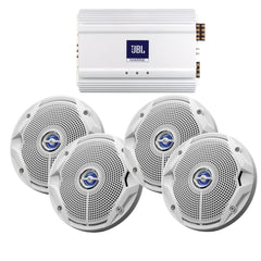 JBL MS6520 Speakers & MA6004 Amp Package - (4) 6.5