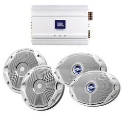 JBL MS6510 & MS9520 Speakers & MA6004 Amp Package - (2) 6.5