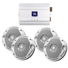JBL MS6510 Speakers & MA6004 Amp Package - (4) 6.5