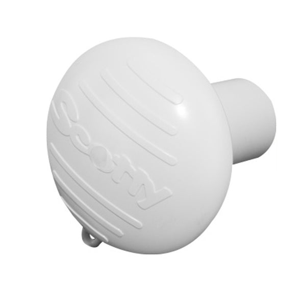 Scotty Hammer Head Rod Butt Cushion - White