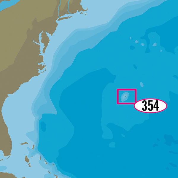 C-MAP MAX-N+ NA-Y354 - Bermuda Islands