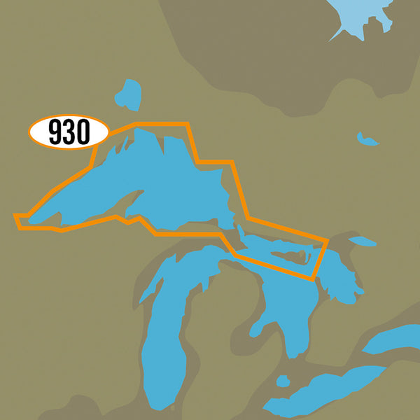 C-MAP MAX-N+ NA-Y930 - Lake Superior