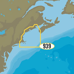 C-MAP MAX-N+ NA-Y939 - Passamaquoddy Bay to Block Island