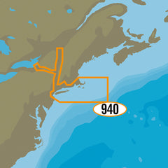 C-MAP MAX-N+ NA-Y940 - Cape Cod, Long Island & Hudson River