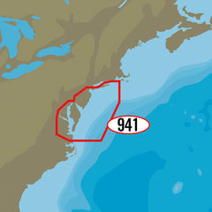 C-MAP MAX-N+ NA-Y941 - Block Island to Norfolk