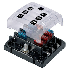 BEP ATC Six Way Fuse Holder & Screw Terminals w-Cover & Link