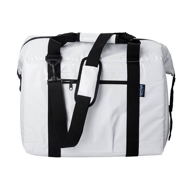 NorChill BoatBag 48 Can Marine Cooler Bag - White Tarpaulin