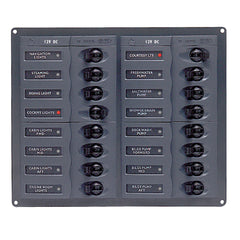 BEP DC Panel - 16-Way - No Meter