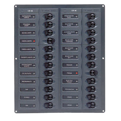 BEP DC Panel - 24-Way - Vertical